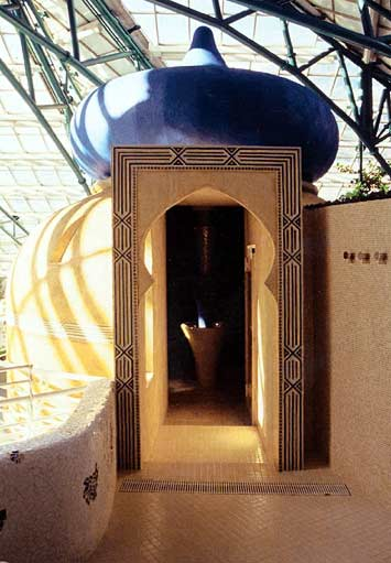 Lux elements concept wellness un hammam dans un for Hammam exterieur