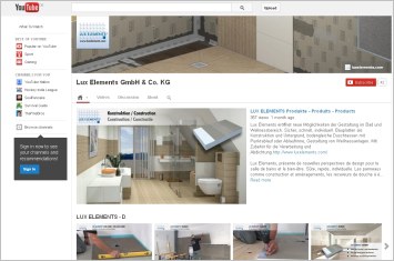 New videos from lux elements on youtube - Luxelements com video ...
