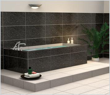 Lux elements relax bw kits de construction pour baignoire - Baignoire a carreler ...