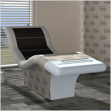 Loungers with heating, electrical, incl. thermostatic controller