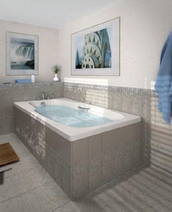 Lux elements top habillage de baignoire - Habillage de baignoire a carreler ...